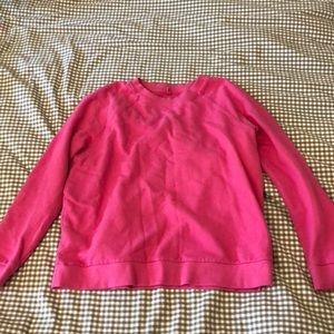 Hot pink sweater shirt